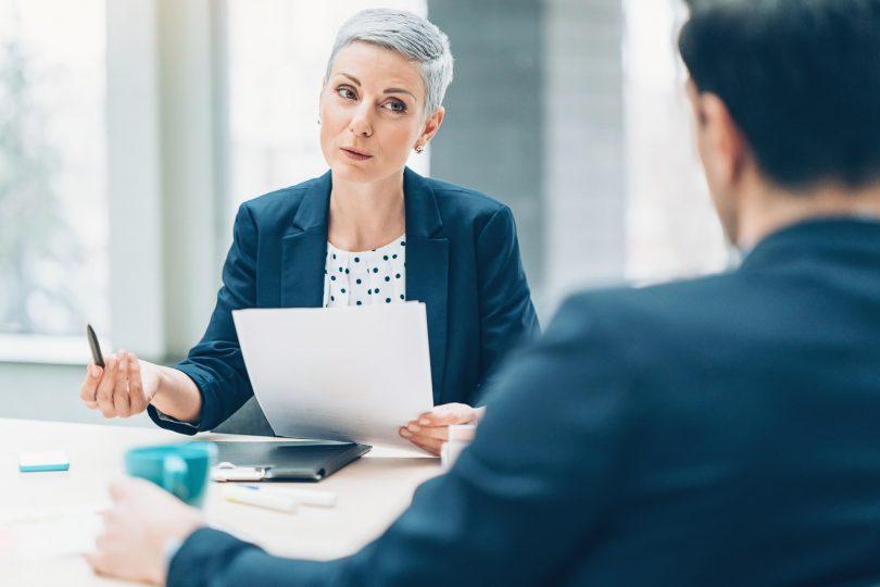 Defeitos na entrevista de emprego
